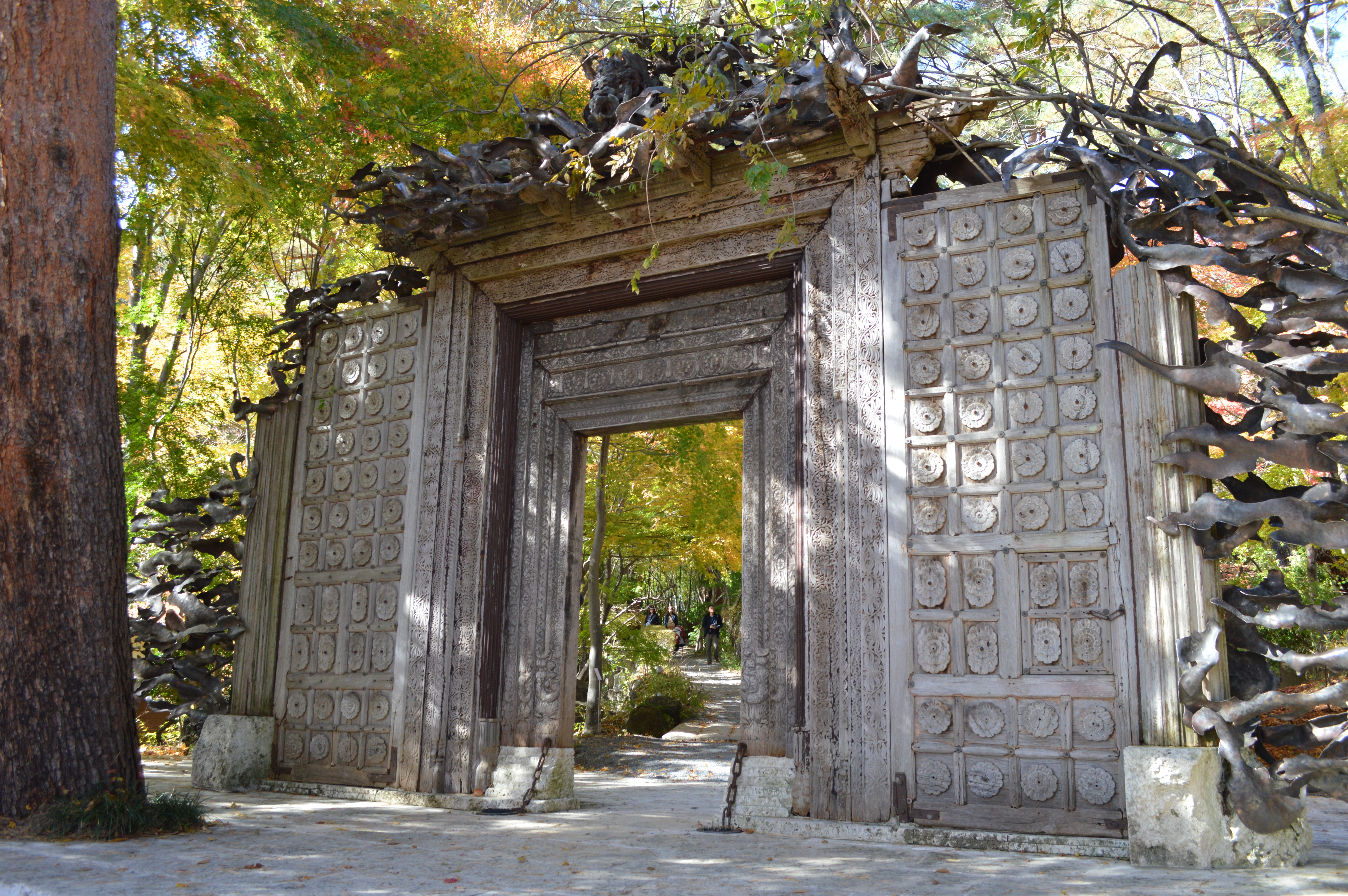The entrance to the Itchiku Kubota Art Museum