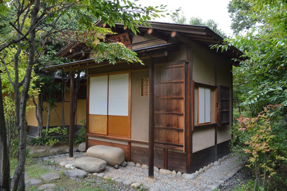The chashitsu (tea house)