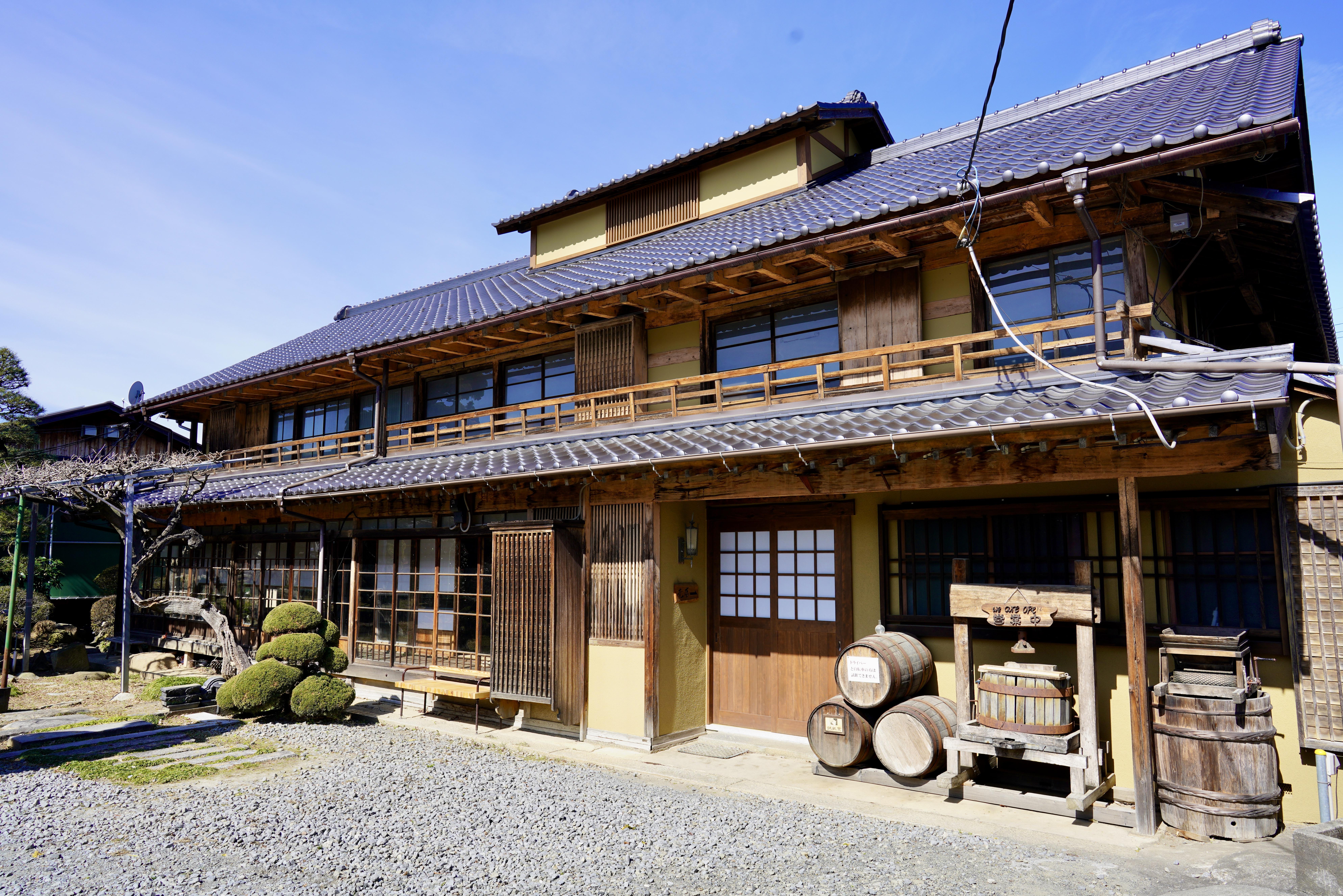Kurambon's Kōshū-gable-type house.