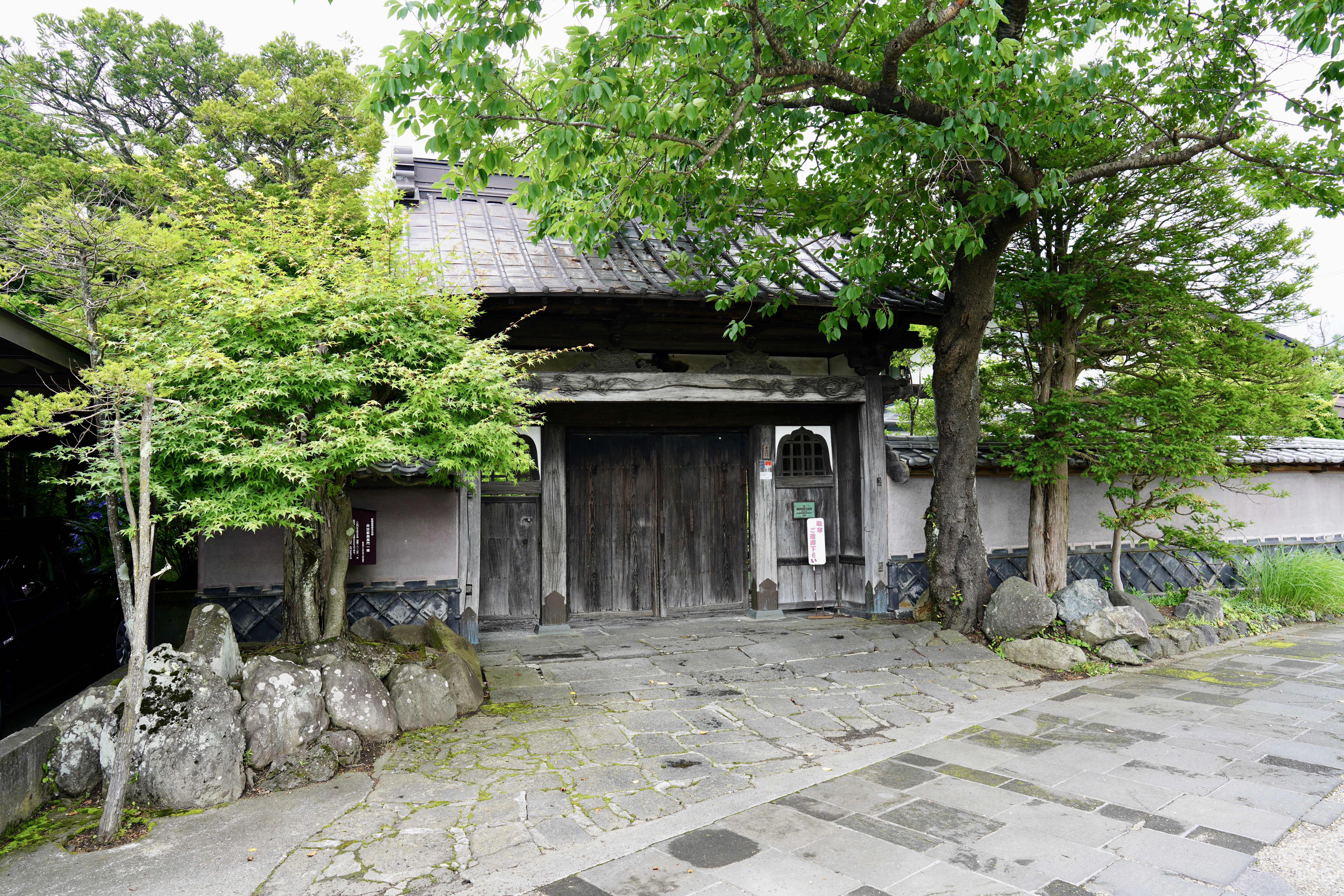 The former entrance to Ide Jyozo (Ide Sake Brewery)