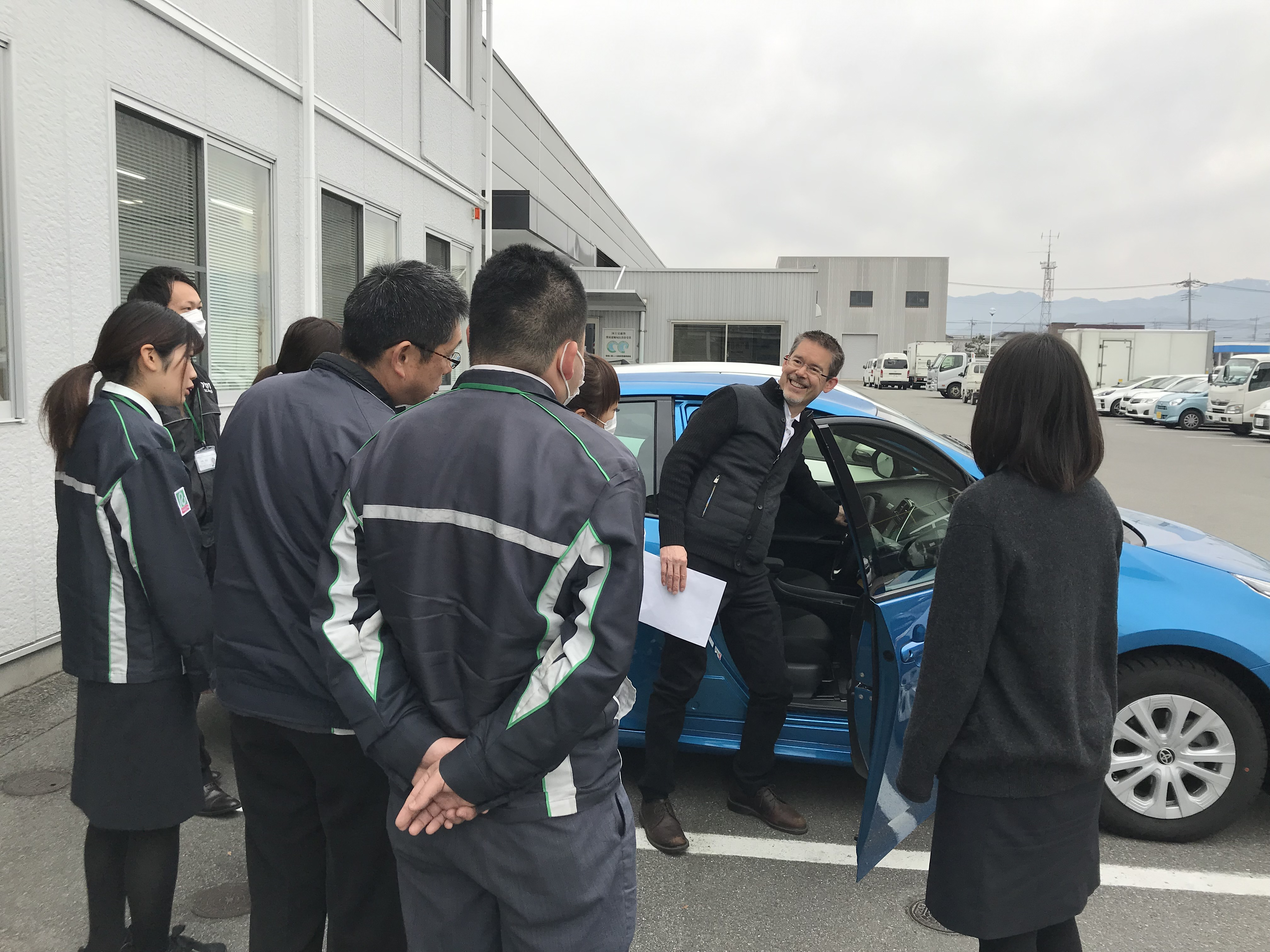 Toyota-Rent-A-Car is just one of the many companies I support with hospitality English training.
